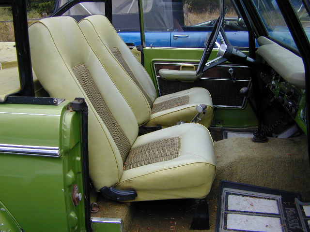 Early Bronco Seat Covers Velcromag